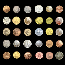 30 Coins Collection Set From Different 30 Countries Fine Coins 100% Original Genuine Coins Collection BTC108