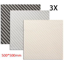 3pcs Carbon Fiber Water Transfer Film PVA Dipping Hydrographics Printing Film 50x50cm