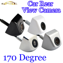 170 Degree Car Rear View Camera Mini Waterproof Parking Assistance Reversing Black / White / Chrome / Silver Color HD CCD Wire