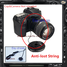 Anti-Losing Snap-on Capkeeper Lens Cap Keeper Holder String Lanyard Rope Strap For DC DSLT DSLR SLR Film Cameras PA268