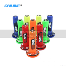 "New colorful MX Grips Handlebar 7/8"" Protaper Grips Fit Motorcycle Motocross ATV Dirt Pit Bike CRF KTM YZF RMZ KLX(China)"