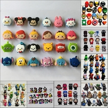 Hot TSUM My little Ponies Star War PVC shoe charms bracelts charms for shoe/wristbands with holes Croc JIBZ,Kids Party Gifts(China)