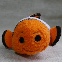 "in hand mini plush Tsum  3 1/2 "" Plush Stuffed toy Marlin From Finding Nemo Scream Clean toy"