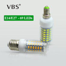 1X 100% Original No Flicker LED Corn lamp 5730SMD E27 E14 220V long Life Span Spotlight Bulb Protect eye health LEDs Corn light