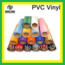 "TJ korea pvc heat transfer vinyl/film heat press vinyl  W20""x one meter hot salling"
