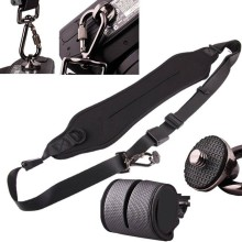 Black Quick Rapid Single Shoulder Sling Belt Neck Strap for Canon Nikon Sony Pentax Olympus Digital SLR DSLR Camera(China)