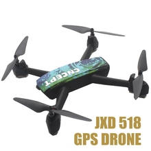 Jxd 518 Gps Rc Drone Fpv Quadrocopter With Camera Wifi Quadcopter Remote Control Toys For Kids Rc Helicopter Gps Drone(China)