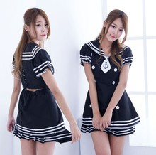 Buy sexy porno lingerie plus size erotic school girl sailor suit lenceria sexy student baby doll role play sexy large big size women
