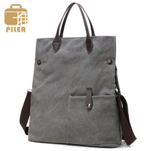 Piler Woman Bags Fashion Handbag 2017 Women Canvas Handbags Lady Shoulder Bag Classic Messenger Crossbody Bag Ladies Hand Bags(China)