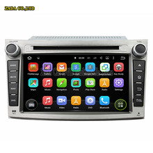 New 1024*600 7inch Quad Core Android 5.1 Car DVD GPS for Subaru Forester/Impreza 2008 2009 2010 2011 with Radio Audio