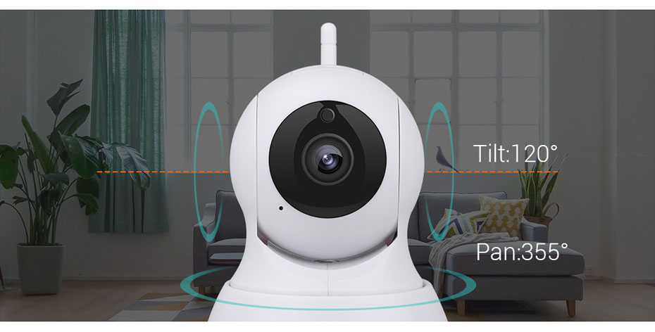 H.VIEW 720P IP Camera 1200tvl Surveillance Camera PTZ CCTV Cameras Camara iOS Android Remote View IP Wifi Cameras (11)