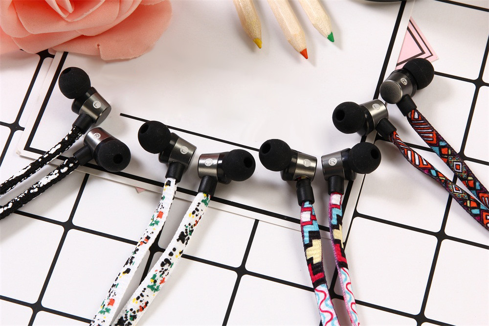 2017 NEW 3.5mm In-Ear Stereo Earbuds Earphone Headset MIC For Iphone Jun27 Dropship#2