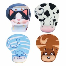 Cute Practical Skid Resistance Memory Foam Comfort Wrist Rest Support Mouse Pad Mice Pad(China)