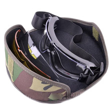 Military Tactical Goggle Airsoft Glasses Outdoor Sports Paintball Sunglasses Shooting Hunting Eyewear(China)