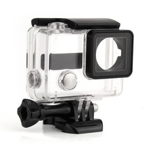 QIUNIU For GoPro Waterproof Housing Case Shell Mount Underwater Diving Protective Housing Case Cover for GoPro Hero 3 3+ 4(China)