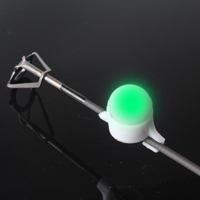 5pcs LED Fishing Rod Tip Strike Alert Rod Night Light Flash Strike Smart Sensor