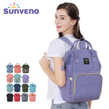 Sunveno Mummy Nappy Bag Brand Large Capacity Baby Bag Travel Backpack Multifunctional Mummy Backpack Diaper Bag