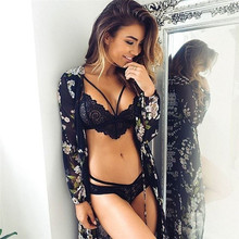Hot Marketing Women sexy lace bra lingerie underwear cropped feminino bralette erotic lingerie Black White Jun16 Drop Shipping