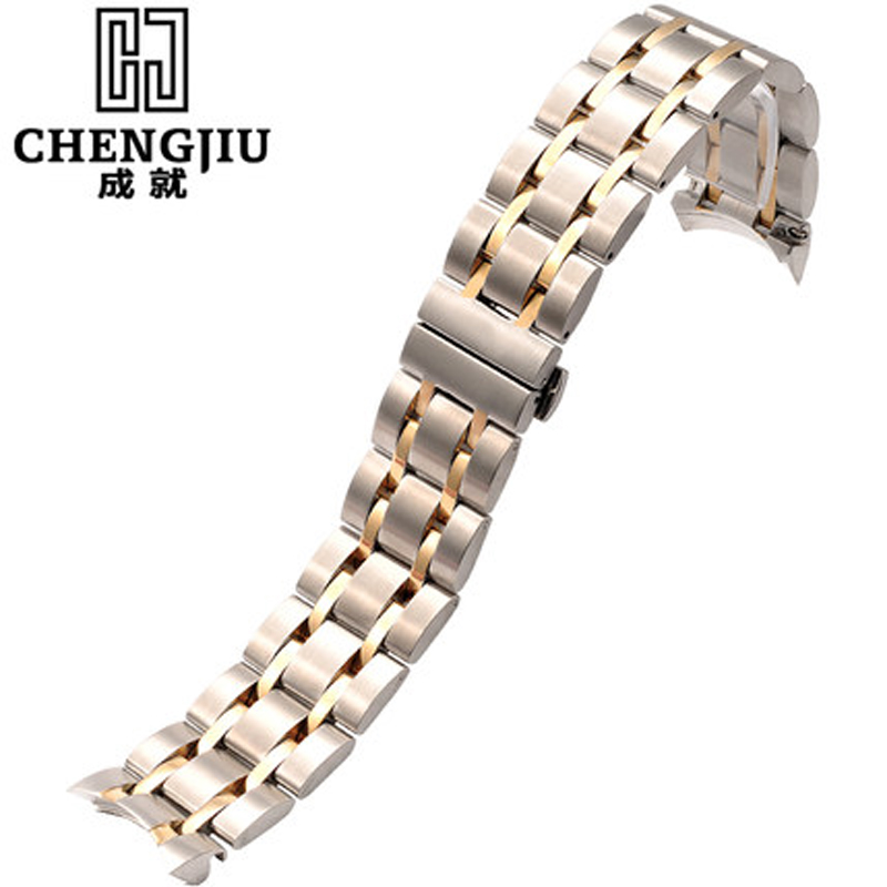 Mens Watchband For Tissot 1853 For Couturier T035 Watch Stainless Steel Watch Strap Metal Bracelet Belt Male Straps 22 23 24mm<br>