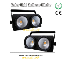 TV Station COB 200w Warm Color Lights 3200k Blinder 2 Light/Lighting Can Fit For Studios/Theatre(China)