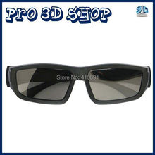 Free shipping 6pcs/Lot Passive 3D Glasses for RealD 3D Cinemas and LG FPR Passive 3D TV Circular Polarized 3D Glasses