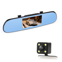 "CARCHET 5"" Car GPS Navigation DVR Rear view Mirror 1080P HD WiFi Touch Screen Packing Tools 512M RAM 8G Quad-Core For Android"