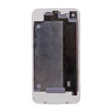 1 piece Battery door Cover For iPhone 4 Back Cover Door Rear Panel Plate Glass Housing Replacement Black/White