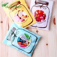 50Pcs Baby Shower Cute Bottle Section Bag Wedding Candy and Snack Food Packaging Box Chocolate Candy Cake Bags.Q