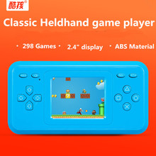 "Original Low price mini Handheld Game Player 2.4"" Color Screen Built-in 298 different Classic Games Retro game console FC Games"