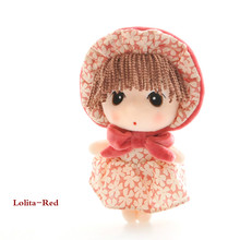 RYRY 20cm 3Styles  Mini Plush Doll Girl Cute Plush Doll Can be Used as Bag decoration Colorful Doll Girl Toy For Childrens
