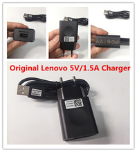 Original Charger For Lenovo Vibe p1 P2 shot a536 a2010 p70 a6000 a806 s850 K5 Mobile Phone 5V/1.5A USB Wall Charger Adapter