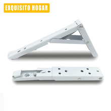 Folding Folding Support Shelf Bracket Triangle Wall Hanging Clapboard Shelving Floor Frame Kitchen Computer Wall Table(China)