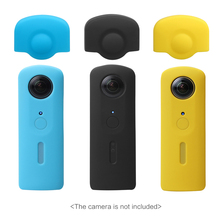 Andoer Protective Silicone Rubber Camera Cover Soft Case Protector Skin Cover for Ricoh Theta S 360 Degree Panoramic Camera(China)