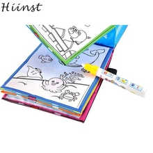 HIINST Modern 2017 Magic Water Drawing Book Coloring Book Doodle Magic Pen Animals Painting Toy For Kids  Drop Shipping Feb28