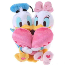 Original Donald Duck And Daisy Duck Lovers Heart Hug Sweet Valentine's Day Girl Friend Gift Birthday Gift