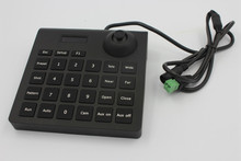Portable Mini Small 2D PTZ Keyboard Controller Joystick Support Pelco-D/P Protocol & Dahua / HK RS485 Speed Dome Camera