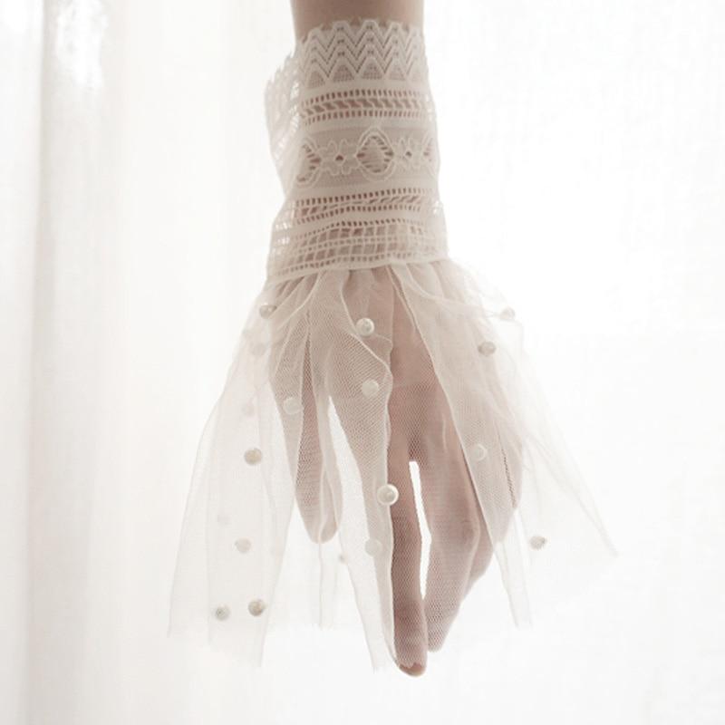 Armstulpen Mode Frauen Warme Weiche Handschuhe Dame Zubehör Bekleidung Wärmer Frauen Gefälschte Original Handgefertigte Universal Falsche Manschette Hülse Hemd