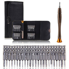 25 in 1 Repair opening Tool Kit Aid Pentalobe Torx Phillips Screwdrivers Set for iPhone PC Camera Watch Hand Tool Set