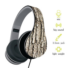Fashion Design Foldable Over Head Headphone With Microphone Super Bass HD Headset With 3.5mm Audio Cable For Iphone Xiaomi PC