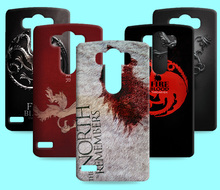 Ice and Fire Cover Relief Shell For LG Optimus G3 G4 H818 F500 Cool Game of Thrones Phone Cases For LG G4 beat G4S G5