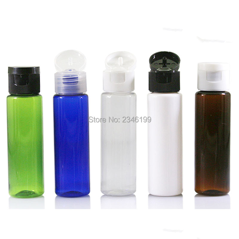 Plastic Bottle 30ml Flip Cover Bottle Empty Cosmetic Packaging Empty Plastic Transparent Cap Packing Cosmetic Container (5)