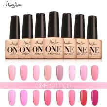 7ml One Step Nail Gel Polish 3 In 1 UV LED Gel Varnish No Need Base Top Coat Nail Lacquer