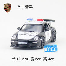 KINSMART Die Cast Metal Models/1:36 Scale/911 GTS RS Police toys/for children's gifts or for collections