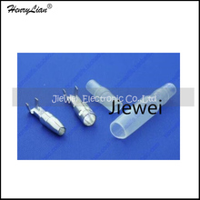HENRYLIAN (Jiewei)   Free Shipping    4.0 bullet terminal car electrical wire connector diameter 4mm pin set 100sets=400pcs