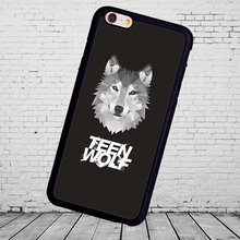 Fashion Teen Wolf  Mobile Phone Cases Bags OEM  phone case for iphone 5s 4s 5c 6 6 7plus  for Samsung S3 S4 S5 S6 S7 S8 edge