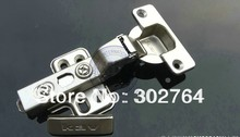45PCS concealed hydraulic furniture ,cabinet hinge,clip on ,3d fast transfer(+/-2mm) half overlay(China)