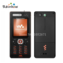 Original W880i Cell Phones Unlocked Sony Ericsson w880 Mobile Phones 3G Bluetooth mp3 Player free shipping(China)