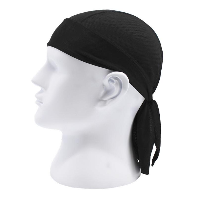 Bicycle Hat Men Women Cycling Pirate Cap Helmet Black Quick Dry Head Scarf MTB Team Headband Green White Ciclismo PA0195 (7)
