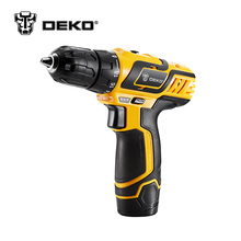 DEKO DZ222 10.8V DC New Design Household Lithium-Ion Battery Cordless Drill/Driver Power Tools Electric Drill(China)