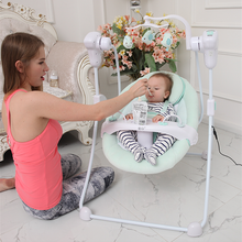 Green Dot Baby electric rocking chair cradle shaking bed cradle baby bouncer swing(China)